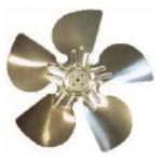 Φτερωτή αντλίας ψύξης 150mm μηχανής ARC