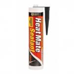 Φλαντζόκολλα EVERBUILD Heat Mate silicone μαύρη 300ml