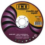 Δίσκοι κοπής INE Double Cut Super Φ125x1 inox