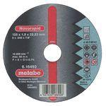 Δίσκοι κοπής METABO Φ125x1.0 inox 616493