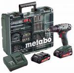 Δραπανοκατσάβιδο μπαταρίας METABO BS18 Li set 602207880