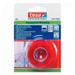 Ταινίες διπλής όψης TESA 19mm x 5m διάφανη 4965